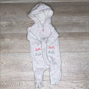 Carter's 6 month zip up cover all